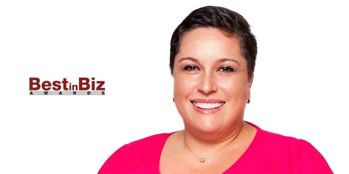 Rebecca Brooks Receives Best in Biz Award