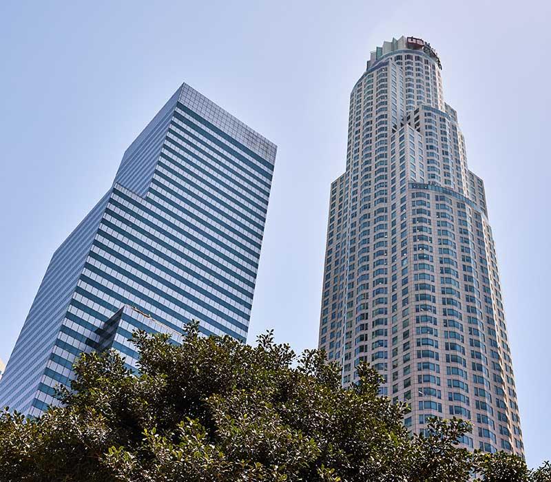 High Rise Buildings in Los Angeles, CA
